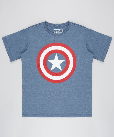 Camiseta-Infantil-Capitao-America-Manga-Curta-Gola-Careca-Azul-Marinho-9415951-Azul_Marinho_1