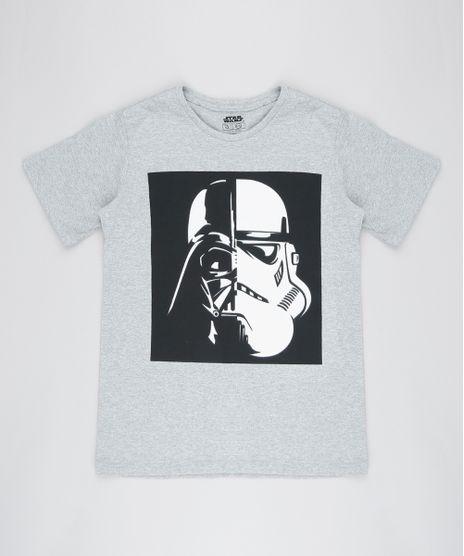 Camiseta-Infantil-Darth-Vader-Manga-Curta-Gola-Careca-Cinza-Mescla-9430600-Cinza_Mescla_1