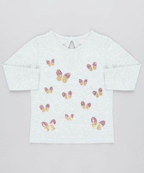 Camiseta-Infantil-com-Borboletas-em-Paete-Manga-Longa-Cinza-Mescla-9471876-Cinza_Mescla_1