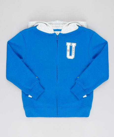 Blusao-Infantil--70--com-Bolso-e-Capuz-em-Moletom--Azul-9377120-Azul_1