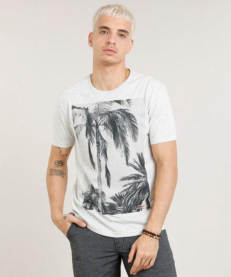 4ba41657f Camiseta-Masculina-com-Estampa-de-Coqueiros-Manga-Curta-