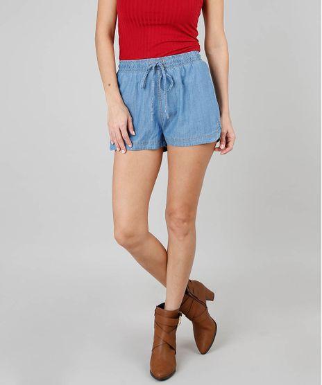 Short-Jeans-Leve-Feminino-Running-Azul-Claro-9536738-Azul_Claro_1