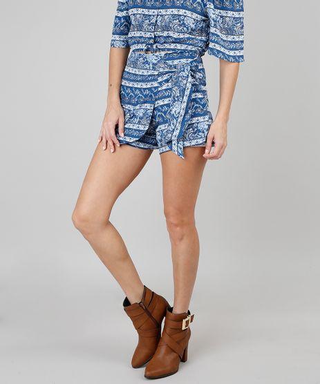 Short-Saia-Feminino-Com-Estampa-Floral-Azul-9506571-Azul_1