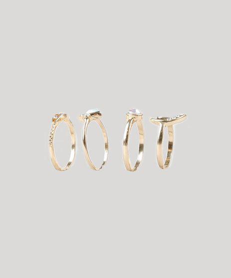 Kit-de-4-Aneis-Femininos-Dourado-9428268-Dourado_1