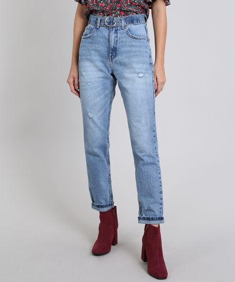Calca-Jeans-Feminina-Skinny-Destroyed-Azul-Medio-9536733-Azul_Medio_1