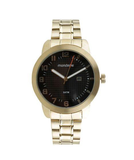 8c21f824a7f Relógio Mondaine Analógico Digital Masculino - 78669GPMVDA2 Dourado - cea