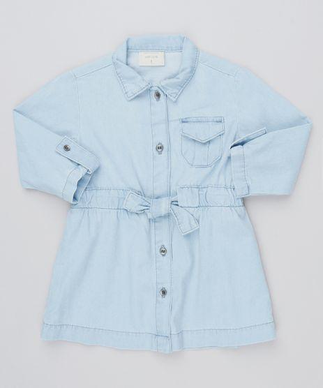 Vestido-Chemise-Infantil-com-Faixa-em-Jeans-Leve-Azul-Claro-9541807-Azul_Claro_1