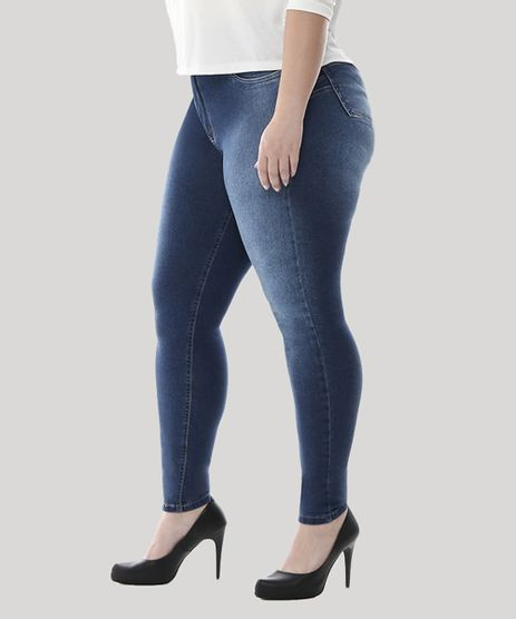 Calca-Jeans-Feminina-Cigarrete-Plus-Size--Azul-Escuro-9582670-Azul_Escuro_1