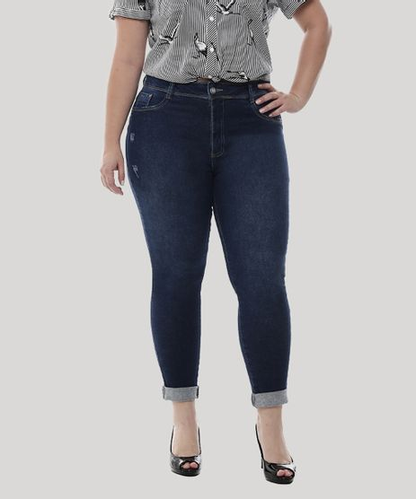 Calca-Jeans-Feminina-Cropped-Plus-Size--Azul-Escuro-9582667-Azul_Escuro_1