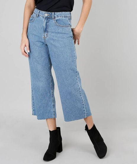 Calca-Jeans-Feminina-Pantacourt--Azul-Medio-9553259-Azul_Medio_1