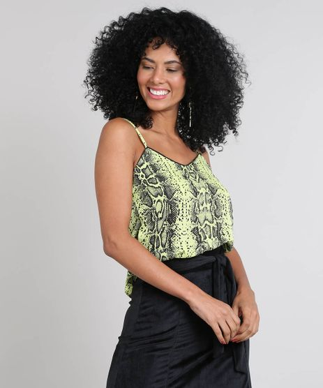 Regata-Feminina-Estampada-Animal-Print-Verde-Neon-9558701-Verde_Neon_1