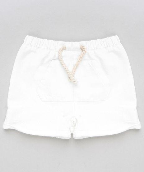 Short-Infantil-em-Moletom-com-Bolso-Branco-9114256-Branco_1