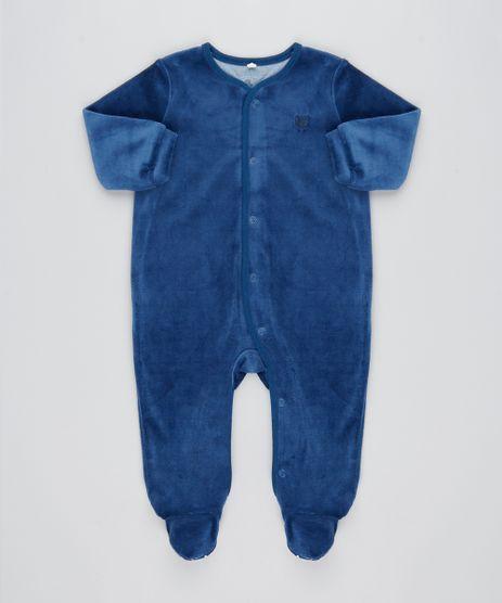 Macacao-Infantil-em-Plush-Manga-Longa-Azul-Escuro-9195564-Azul_Escuro_1