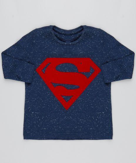 Camiseta-Infantil-Super-Homem-Botone--Manga-Longa-Azul-Marinho-9493446-Azul_Marinho_1