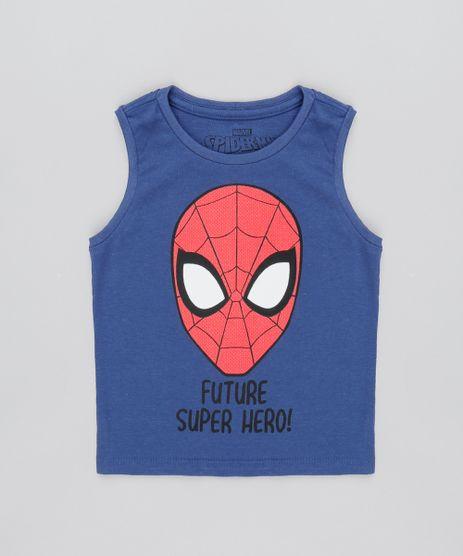 Regata-Infantil-Homem-Aranha-Decote-Careca-Azul-9528117-Azul_1