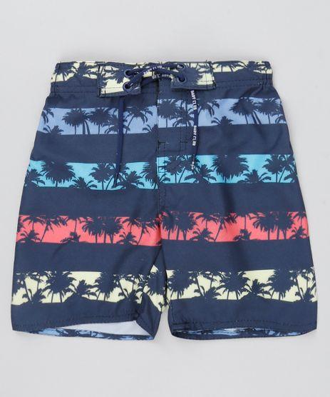 Bermuda-Infantil-em-Estampado-Coqueiros-Azul-Marinho-9529325-Azul_Marinho_1