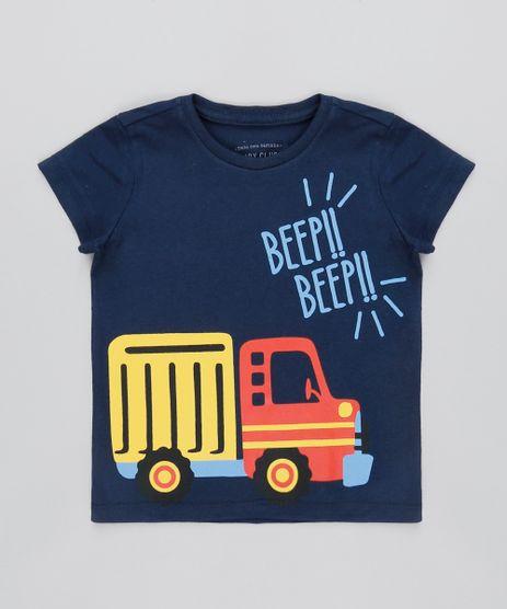 Camiseta-Infantil--Beep-Beep--Manga-Curta-Azul-Marinho-9501795-Azul_Marinho_1