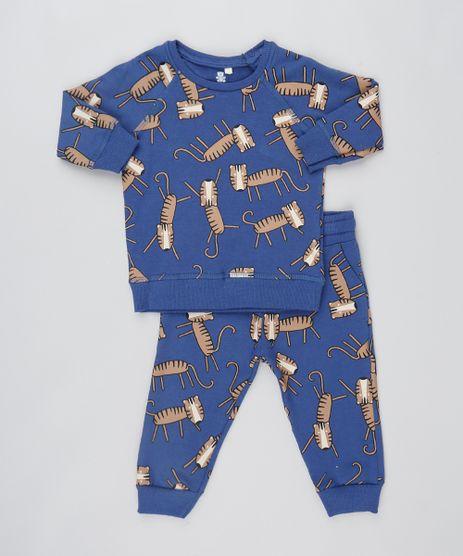 Conjunto-Infantil-de-Blusao-em-Moletom---Calca-Azul-Marinho-9472626-Azul_Marinho_1