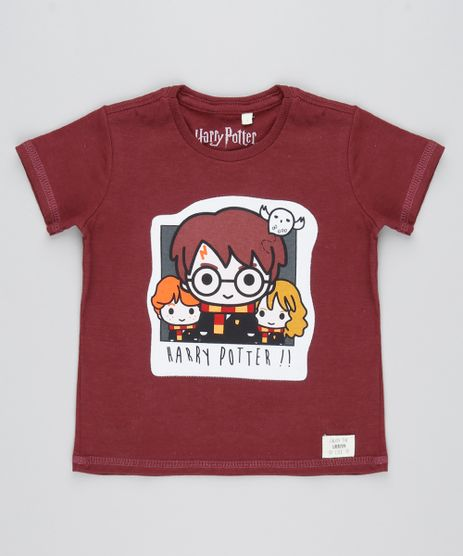 Camiseta-Infantil-Harry-Potter-Manga-Curta-Vinho-9530779-Vinho_1