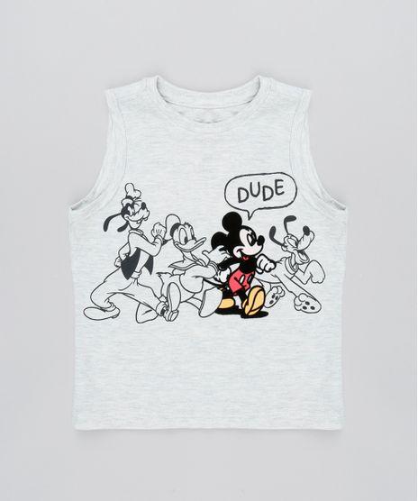 Regata-Infantil-Mickey-Mouse-Decote-Careca-Cinza-Mescla-Claro-9525154-Cinza_Mescla_Claro_1