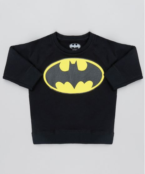 Blusao-Infantil-Batman-Raglan-em-Moletom--Preto-9528485-Preto_1