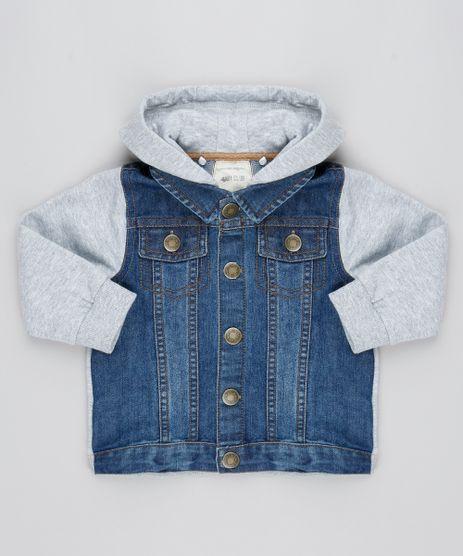 Jaqueta-Jeans-Infantil-com-Capuz-e-Moletom-Azul-Escuro-9363735-Azul_Escuro_1