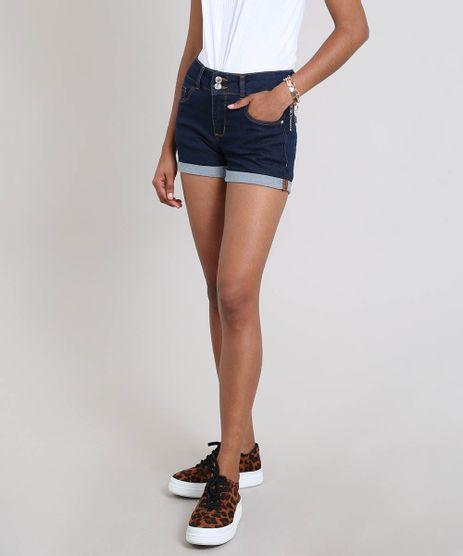 Short-Jeans-Feminino-Midi-Com-Barra-Dobrada-Azul-Escuro-9539517-Azul_Escuro_1