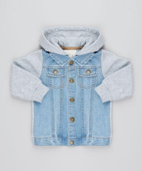 Jaqueta-Jeans-Infantil-com-Capuz-e-Moletom-Azul-Claro-9363658-Azul_Claro_1