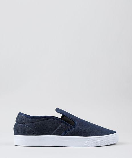 Tenis-Slip-On-em-Jeans-Azul-Escuro-8933393-Azul_Escuro_1