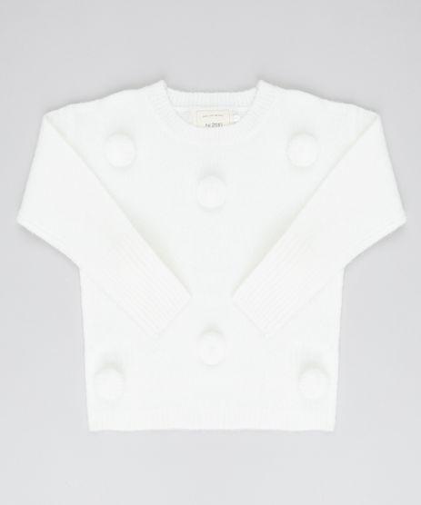 Sueter-Infantil-em-Trico-com-Pompom-Off-White-9434396-Off_White_1