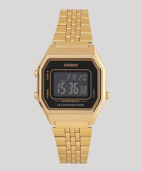 c385e40eb Relogio-Digital-Casio-Feminino---LA680WGA1BDF-Dourado-8091728-