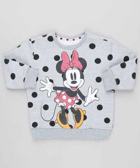 Blusao-Infantil-Minnie-Estampado-Poa-em-Moletom-Manga-Longa--Cinza-Mescla-9541338-Cinza_Mescla_1