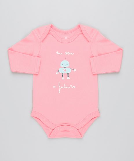 Body-Infantil--Eu-Sou-o-Futuro--Manga-Longa-Decote-Redondo-Rosa-9443088-Rosa_1