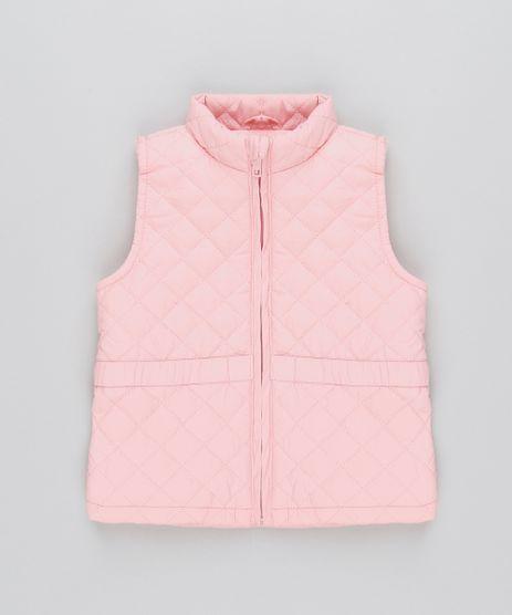 Colete-Infantil-Puffer-Matelasse-Rose-9349782-Rose_1