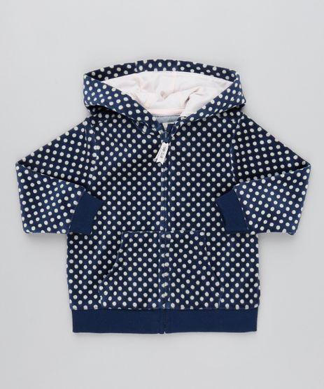 Blusao-Infantil-Estampado-em-Poa-em-Plush-com-Capuz-Azul-Marinho-9345933-Azul_Marinho_1