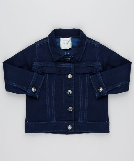 Jaqueta-Jeans-Infantil-com-Babado-e-Recortes--Azul-Medio-9447195-Azul_Medio_1