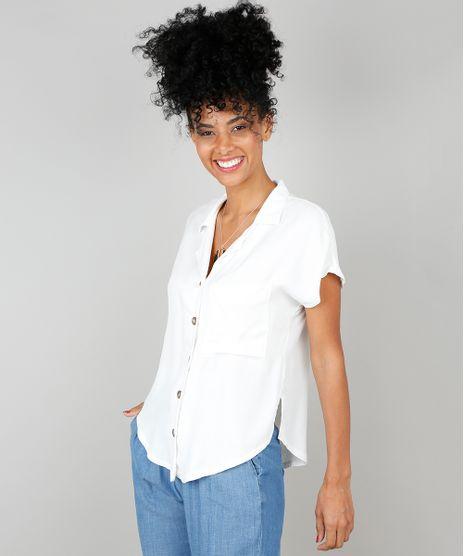 Camisa-Feminina-com-Bolso-Manga-Curta-Off-White-9530001-Off_White_1