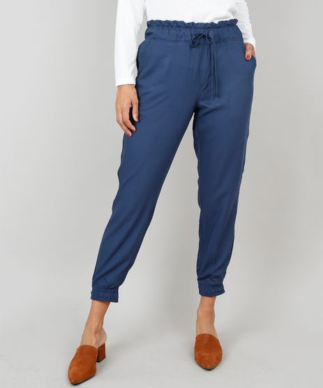 Calca-Jeans-Feminina-Clochard-Jogger-Com-Amarracao-Azul-Escuro-9560827-Azul_Escuro_1