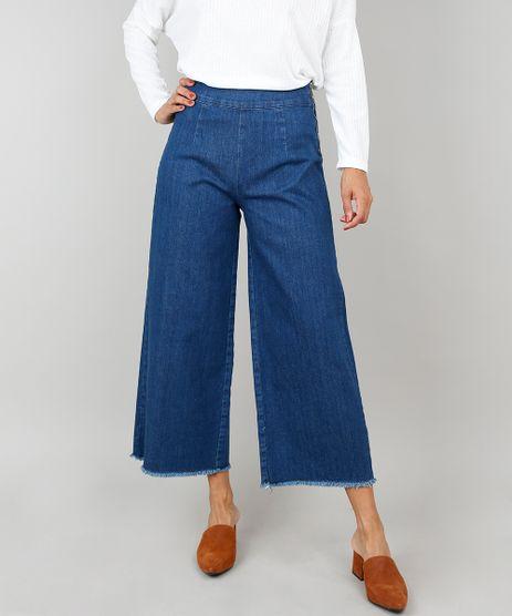 Calca-Jeans-Feminina-Pantacourt-Com-Barra-Desfiada-Azul-Escuro-9536753-Azul_Escuro_1