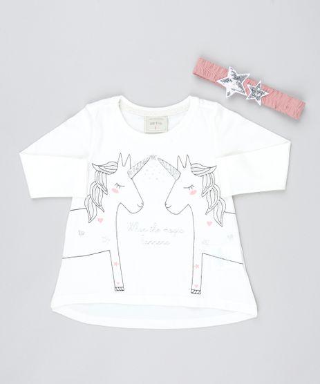 Blusa-Infantil--Unicornio--Manga-Longa-com-Faixa-de-Cabelo-Off-White-9538142-Off_White_1