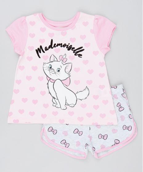 Pijama-Infantil-Marie-Com-Flocado---Mademoiselle--Manga-Curta-Rosa-9526224-Rosa_1