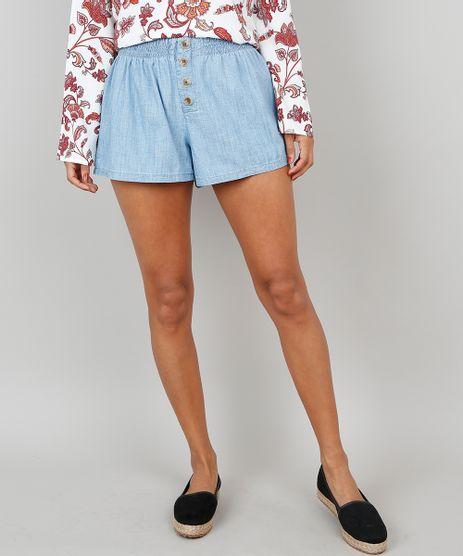 Short-Jeans-Feminino-Com-Botoes-Azul-Claro-9546745-Azul_Claro_1