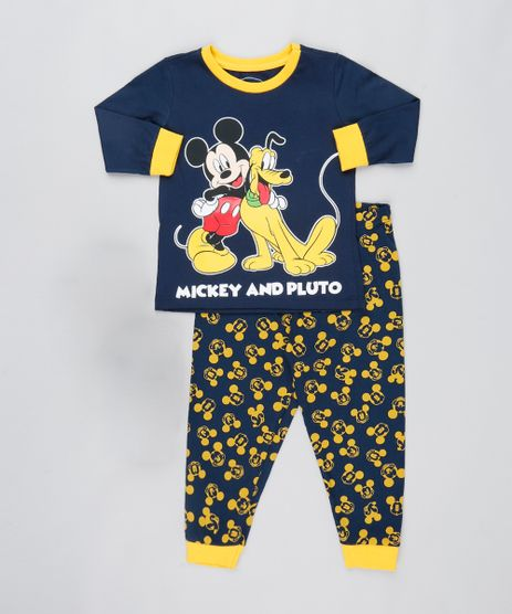 Pijama-Infantil-Mickey-Mouse-Manga-Longa-Azul-Marinho-9528122-Azul_Marinho_1