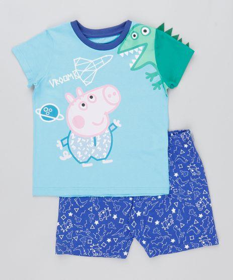 Pijama-Infantil-Peppa-Pig-Manga-Curta-Azul-Claro-9476468-Azul_Claro_1
