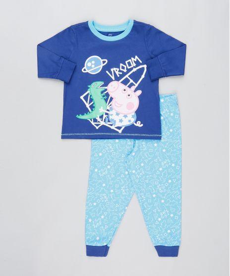 Pijama-Infantil-Peppa-Pig-Manga-Longa-Azul-Claro-9476470-Azul_Claro_1