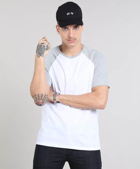 Camiseta-Masculina-Raglan-Basica-Manga-Curta-Gola-Careca-Branca-8808223-Branco_1