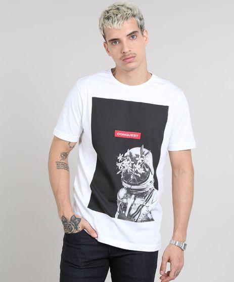 Camiseta-Masculina-Astronauta-Manga-Curta-Gola-Careca-Branca-9247405-Branco_1