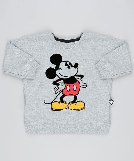 Blusao-Infantil-Mickey-Flocada-em-Moletom-Cinza-Mescla-9528483-Cinza_Mescla_1