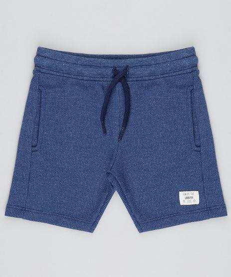 Bermuda-Infantil-com-Cordao-em-Piquet-Azul-Marinho-9531219-Azul_Marinho_1