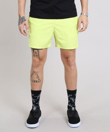 Short-Masculino-com-Bolsos--Amarelo-Neon-9554219-Amarelo_Neon_1